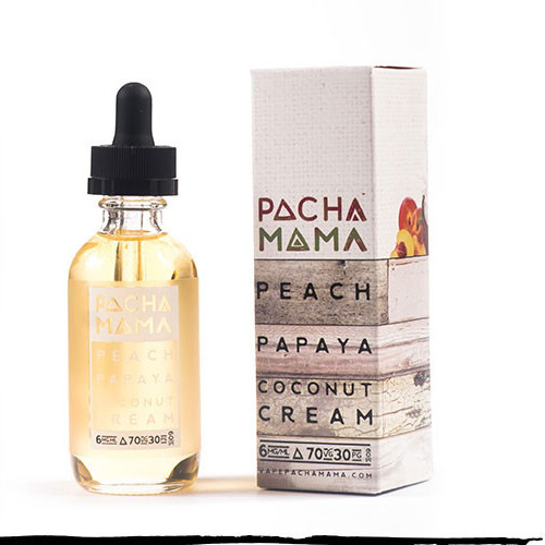 Peach, peach-papaya-coconut-cream-eliquid-pacha-mama
