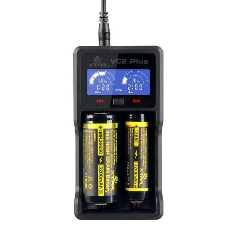 Xtar VC2, xtar-vc2-plus-battery-charger