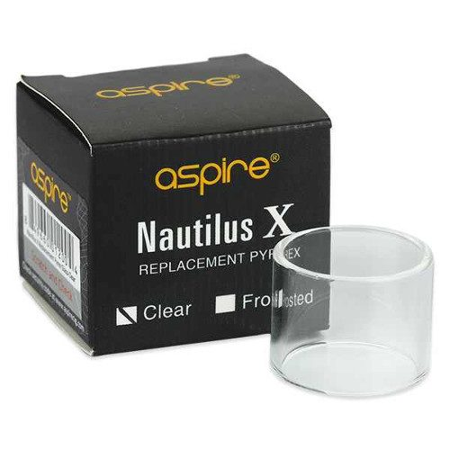 Nautilus X 2ml Clear Replacement Glass, Replacement Glass