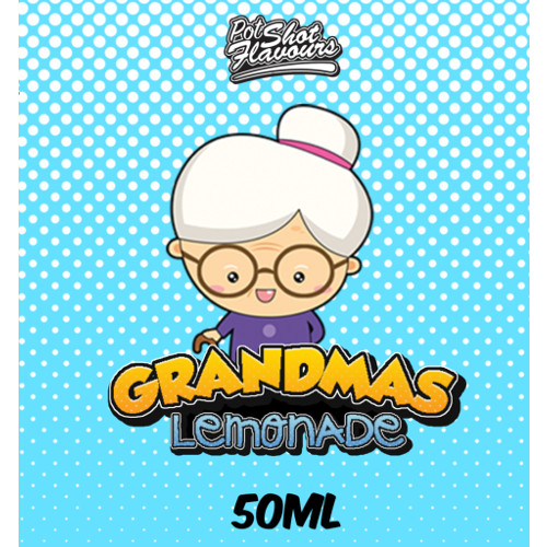 grandma's lemonade, pot-shot-flavours-grandmas-lemonade, grandma's