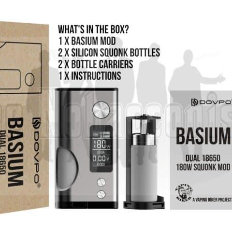 Basium Squonk Mod, Basium Mod