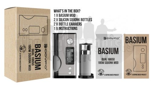 Basium whats in the box