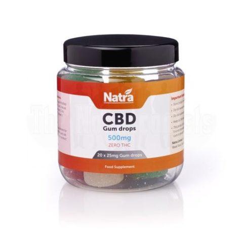 Natra-CBD-Gum-Drops-500mg, Natra-CBD-sweets-500mg