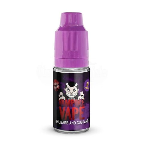 Rhubarb_and_Custard, rhubarb_and_custard_10ml, rhubarb-custard-by-vampire-vapes
